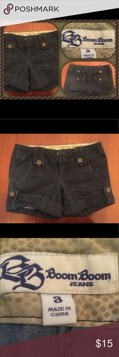 🔴 BOGO jean shorts from Boom Boom Jean shorts from Boom Boom. Size is 3 which is equivalent to a 2-4. Boom Boom is known for their denim line that gives a butt lift. Body Central Shorts Jean Shorts