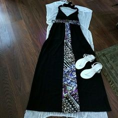 Cute summer dress Perown item great condition very soft on your skin Dresses Maxi