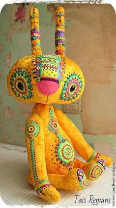 Мишки Тедди ручной работы. Ярмарка Мастеров - ручная работа Заяц- Кудя. Handmade.
