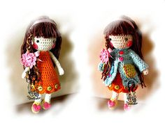 Crochet+PATTERN+19++Doll+Madlenka+3D+by+NellagoldsCrocheting,+€4.30