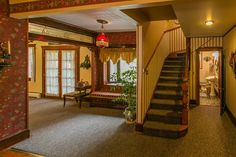 posh 1890s interior