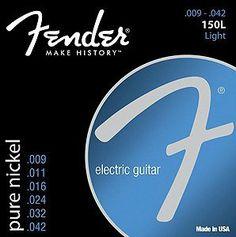 Fender Electric Guitar Strings - 150L by Fender. $5.99