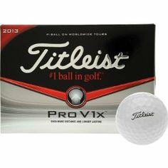 Titleist Pro V1x Golf Balls (Pack of 12) by Titleist - Golf Spirit Sport 64c1091d9