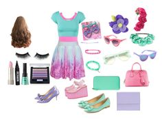 """""""Teal me something Do I have to much pink or to much purple"""" by sarah-mathews-1 on Polyvore"""