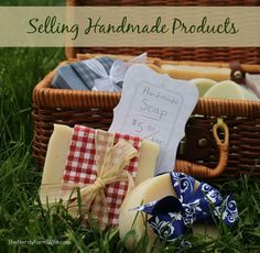 Selling Handmade Products (FAQs Series)