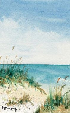 Watercolor by Tracee Murphy, via Flickr