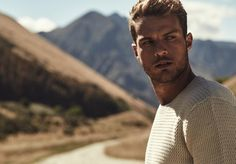 Ryan Cooper for Industrie Winter 2015. Australian top model turned actor Ryan Cooper (Chic Management) to star in their latest Winter 2015 advertising campaign.