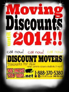 Moving discounts till 2014