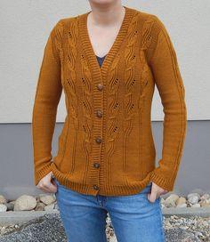 Ravelry: Olivenhain Cardigan pattern by Irina Anikeeva