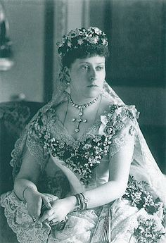 Beatrice the ninth child (1857-1944) of Victoria and Albert.