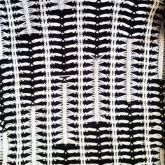 """38 Likes, 4 Comments - Amy Lawrence (@amylawrencedesigns) on Instagram: """"Stretch cotton and merino wool sample #monochrome #santagostino #knit"""""""