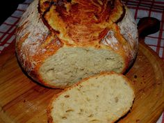"""What's in the sideboard"": Wheat bread without kneading My Favorite Food, Favorite Recipes, Homemade Pita Bread, Bread Recipes, Cooking Recipes, Bread Rolls, Chocolate Cake, Food And Drink, Breakfast"