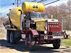 Millions of Semi Trucks Mack Trucks, Big Rig Trucks, Dump Trucks, Old Trucks, Heavy Duty Trucks, Heavy Truck, Concrete Mixers, Mix Concrete, Cement Mixer Truck