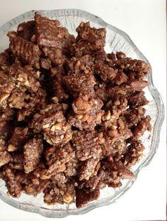 Toffee Almond Muddy Buddies
