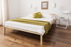 Double Bed Pine 4 6  Double Bed Wooden Frame ,  Sussex Collection