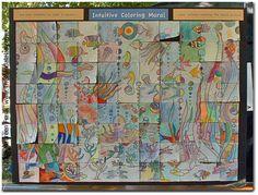 Intuitive Coloring Mural Community Art Project::The Mandala Lady ...
