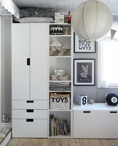 Kids Bedroom Designs, Boys Bedroom Decor, Kids Room Design, Baby Room Decor, Ikea Stuva, Kids Workspace, Ikea Kids Room, Big Boy Bedrooms, Princess Room