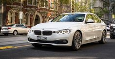The BMW badge returns, packing a three-cylinder engine. Yes, a three-pot Does the package work? 2016 Cars, Bmw 318i, Engineering, World, German, Nice, Check, Top, Deutsch