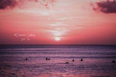 Beautiful sunset. Bali-Kuta