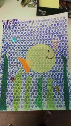 Couverture sur le thème de la mer Summer Crafts, Crafts For Kids, Arts And Crafts, Art Activities, Art School, Nespresso, Artsy, Ideas, Projects