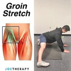stretching exercises for groin area , dehnübungen für die leistengegend ejercicios de estiramiento para el área de la ingle Stretching Exercises For Flexibility, Stretches Before Workout, Neck Stretches, Workouts, Workout Routines, How To Do Splits, Inner Thigh, Yin Yoga, Physical Therapy