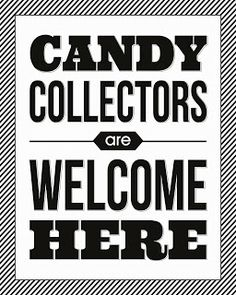 Candy Collectors Halloween Print