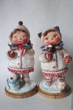 авторская кукла Маруся - ватная игрушка, куклы авторских работ, авторская ручная работа