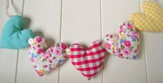 Heart Garland Brights by RubyRed06, via Flickr