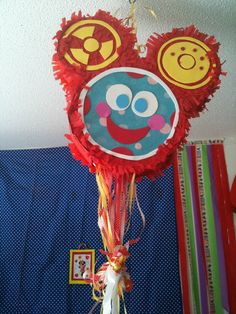 Toodles Pull String Pinata Mickey Mouse Clubhouse Party. $39.99, via Etsy.