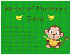 Jungle birthday on pinterest monkey birthday parties for Barrel of monkeys coloring page