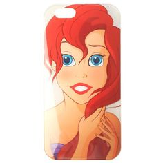Disney The Little Mermaid Ariel iPhone 6 Case Hot Topic ($10) ❤ liked on Polyvore featuring women's fashion, accessories, tech accessories, phone, phone cases, cases and disney
