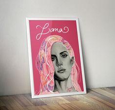 Lana Del Rey Fanart on Behance