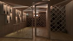 We can arrange a private cellar at your place at the best price. For more information contact us. 3d Projects, Wine Cellar, 3d Design, Interior Design, Places, Room, Furniture, Home Decor, Riddling Rack