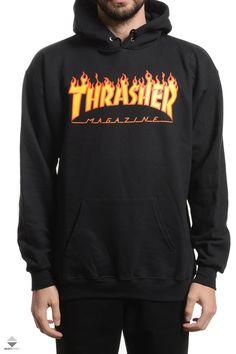 Bluza Kaptur Thrasher Flame