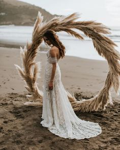 Mermaid Sweetheart Sweep Train Lace Beach Wedding Dress, simple boho wedding dresses, chic off the shoulder bridal gowns Lace Beach Wedding Dress, Sweetheart Wedding Dress, Long Wedding Dresses, Mermaid Wedding, Wedding Gowns, Bridal Gowns, Inexpensive Wedding Dresses, Wedding Ceremony, Wedding Venues