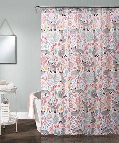 Pixie Fox Shower Curtain
