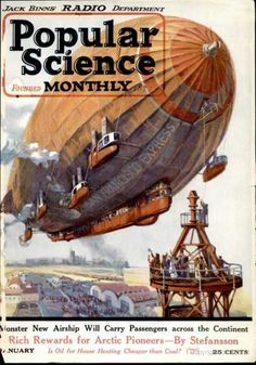 Popular Science - January 1923 - the website has some wonderful steampunk-like images!
