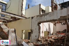 Vive Arandas, Jalisco, La Revista Electrónica – La casa sacerdotal esta en proceso de demolición.