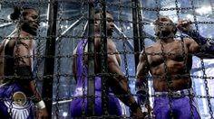 Lucha en Cámara de Eliminación por el Campeonato de Parejas WWE: fotos