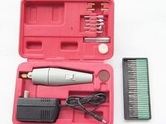 Simple-Mini-cutting-and-polishing-of-small-electric-drill-with-tool-box