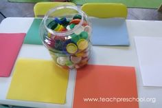 Post image for Learning with lids in preschool Preschool Colors, Numbers Preschool, Preschool Math, Fun Math, Toddler Activities, Activities For Kids, Preschool Ideas, Toddler Toys, Maths