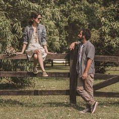 #PreWedding #CasalGoulart2016 #SaoBentodoSapucai #Love #Ensaio #Casamento #Noivado #Vintage #Retro #AllStar #RayBan #Campo #Natureza #Rustico #Country / foto: @_tieabe