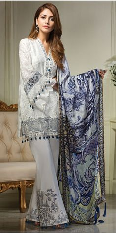 Anaya Lilly of the Valley Luxury Eid Lawn 2017