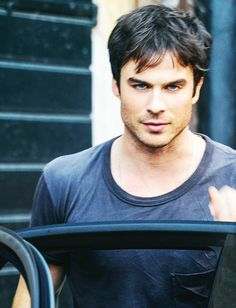 Ian Somerhalder - believe it or not,  there was a point in time I didn't think much of him