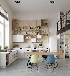 Spectacular Scandinavian Kitchen Ideas (65)