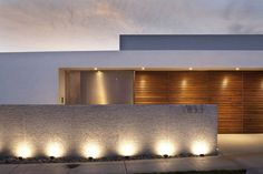 Amazing the impact exterior lighting can have on a building, I bet without it this would look quite plain.