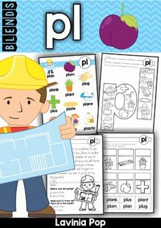 PL Blends Worksheets and Activities*** Australian and American spelling ***Please note: This unit is included in my Blends BUNDLE. Please do not purchase this unit if you already own the bundle!Please download the FREE BL Beginning Blend unit to get a better idea of what to expect from my beginning blends units!About this book:This book contains a collection of worksheets, games and activities intended for use with children in Kindergarten (Prep) and Grade 1 to help them learn the gl…