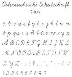Schulschrift 1969 - Ausgangsschrift – Wikipedia