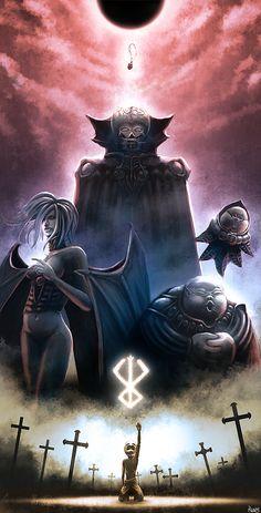 Berserk - The Godhand + Creation of Femto; Griffith