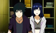 hinata and sasuke... I don't know what's happening but I laughed
